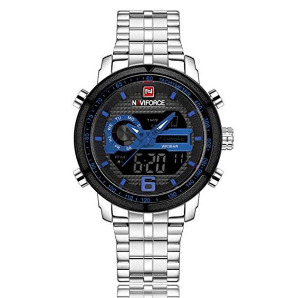 naviforce 9119 noir bleu
