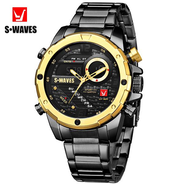 s-waves sw2063s noir doré