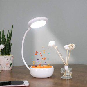 HY25 lampe sans fil haut parleurs