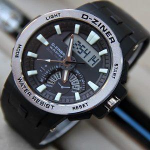 d-ziner 8162 noir argenté 1